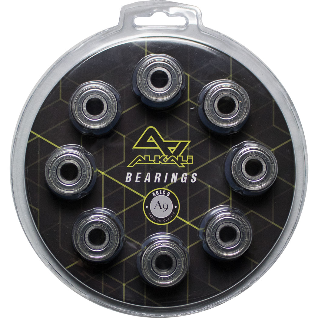 Alkali 16-Pack Inline Hockey Speed Bearings (ABEC-9)