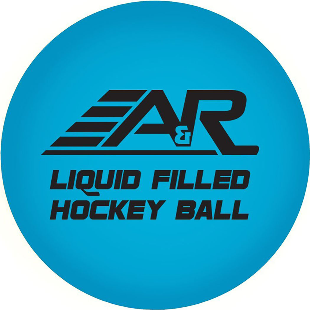 A&R Liquid Filled Low Bounce Street Hockey Ball