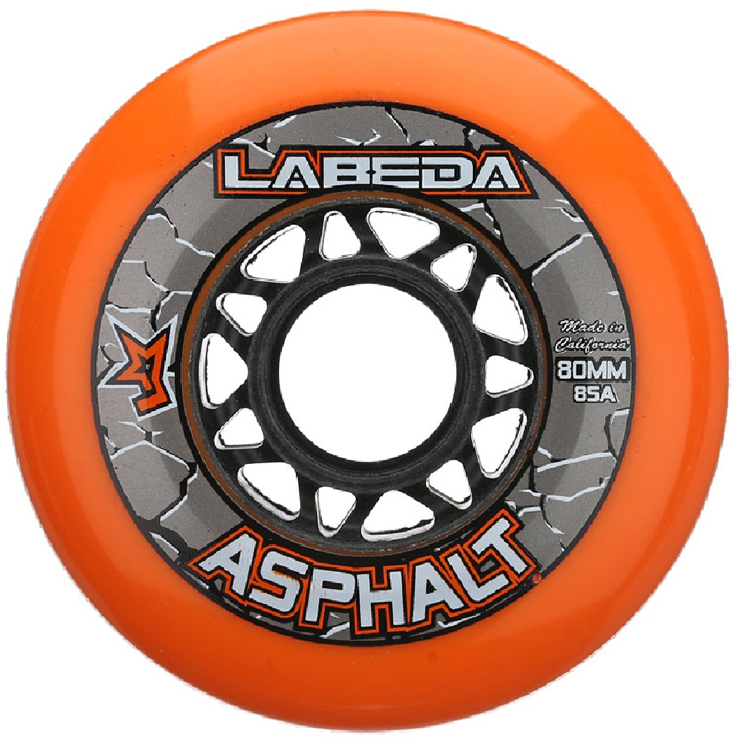Labeda Asphalt Outdoor Inline Hockey Wheels (85A)