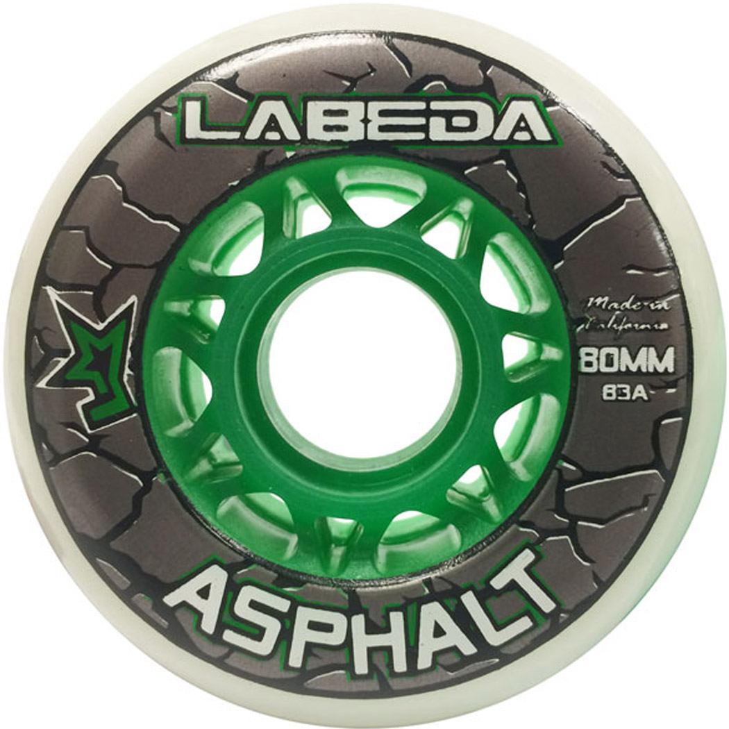 Labeda Asphalt Outdoor Inline Hockey Wheels (83A)